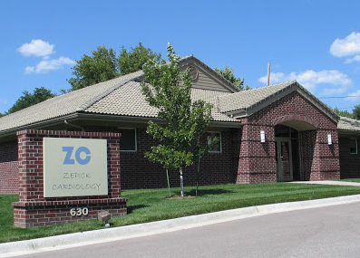 Front view of Zepick Cardiology, located on Hillside just south of Kellogg in Wichita, KS